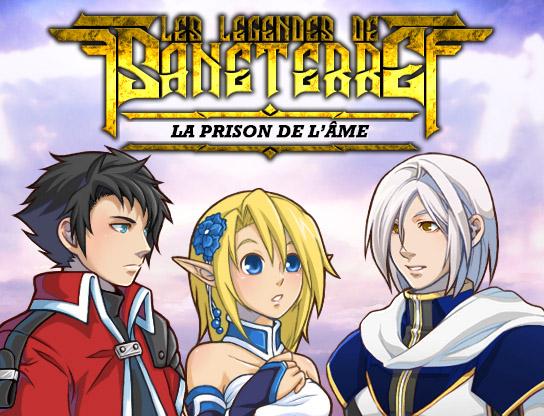 Les légendes de Sanéterre - La prison de l'âme Titre