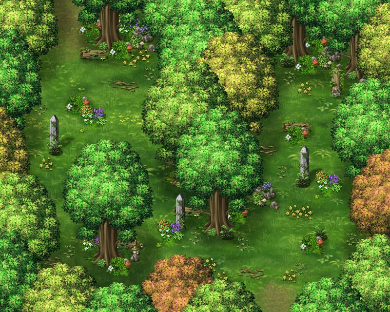 Les légendes de Sanéterre - La prison de l'âme Forest1