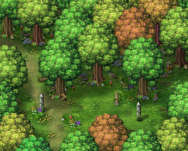 Les légendes de Sanéterre - La prison de l'âme Forest2